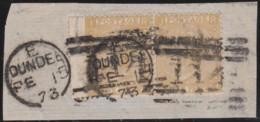 Great Britain  . Yvert  .   35 Paar .   (1867-69)  .   Tige De Rose    .  O  .   Cancelled      .   /  .   Gebruikt - 1840-1901 (Victoria)