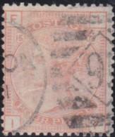 Great Britain  . Yvert  .   58 .   (1876-80)  .   Grande Jarretiere    .  O  .   Cancelled      .   /  .   Gebruikt - 1840-1901 (Victoria)