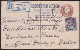 Great Britain  . Yvert  .   108  On  Letter   (2 Scans)        .  O  .   Cancelled      .   /  .   Gebruikt - Storia Postale