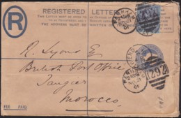 Great Britain  . Yvert  .    95 On   Letter .    (2 Scans)       .  O  .   Cancelled      .   /  .   Gebruikt - Storia Postale