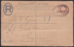 Great Britain  . Yvert  .      Letter .    (2 Scans)  Tear       .  O  .   Cancelled      .   /  .   Gebruikt - Storia Postale