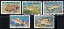 1975Turkey2369-2373Sea Fauna15,00 € - Vita Acquatica