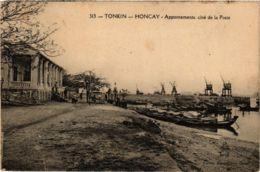 CPA INDOCHINA Tonkin Appontements, Cote De La Poste VIETNAM (957435) - Viêt-Nam
