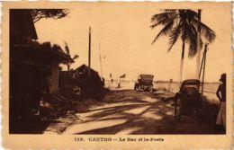 CPA INDOCHINA Cantho Le Bac Et La Poste VIETNAM (957536) - Viêt-Nam