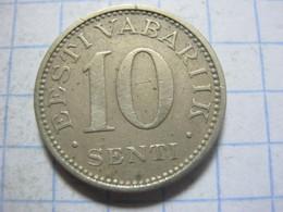 Estonia ,10 Senti 1931 - Estland