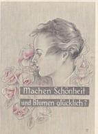 Reklame Machen Schönheit Und Blumen Glücklich? - Deutscher Ring Versicherung - Prospekt  (47733) - Publicidad