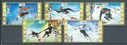 Umm Al Qiwain Poste Aérienne YT N°28 Jeux Olympiques D'hiver Sapporo 1972 Oblitéré ° - Umm Al-Qiwain