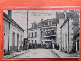 CPA (41) St Aignan Sur Cher.Manufacture De Bonneterie.Sortie Des Ateliers. (N.351) - Saint Aignan
