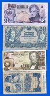 Autriche  4  Billets - Autriche