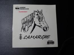 Adhésif Autocollant Cheval Camargue Aufkleber Wappen Coat Of Arms Sticker Adesivo Adhesivo - Obj. 'Souvenir De'