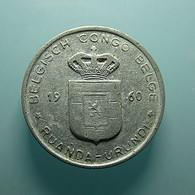 Belgian Congo 1 Franc 1960 - 1951-1960: Baudouin I