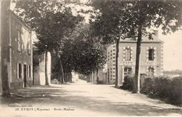 EVRON Roche Madeau Café Moderne 1939 Bel Affranchissement Et Cachet De M. Bussinger  Vétérinaire - Evron