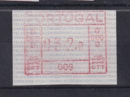 Portugal Frama-ATM Aut.-Nr.009 Wert 032,0 Postfrisch ** - ATM/Frama Labels
