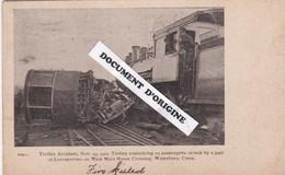 ETATS UNIS - WATERBURY - TROLLEY ACCIDENT - 29 NOVEMBER 1907 - Waterbury