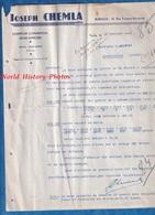 Document Ancien - TUNIS - Maison Joseph CHEMLA - Juif Marocain ?- Comptoir Commercial Nord Africain - Factures & Documents Commerciaux