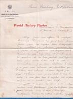 Document Ancien - 1887 - SAINT PETERSBOURG - Maison E. MELLIER , Libraire De La Cour Impériale - Russie Russia - Factures & Documents Commerciaux