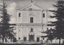 SAN LORENZO NUOVO-VITERBO-CHIESA COLLEGGIATA E PARROCCHIALE-CARTOLINA VIAGGIATA IL 16-8-1976-PRODUZIONE ANNO 1950-1955 - Viterbo