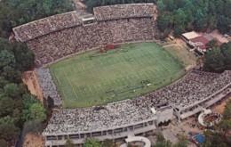 Chapel Hill North Carolina Kenan Stadium At University, C1960s Vintage Postcard - Stadions