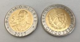 CUBA 5 Pesos, 2017, (NEW Not Listed In Catalog), UNC - Cuba