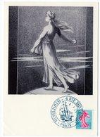 Carte Maximum 1960 - Semeuse De Piel D'après Roty  YT 1233 - Oblitération Musée Postal Paris - 1960-69