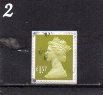 GB 2009-date £1.57 Code MAIL M17L - Machins