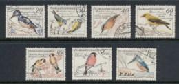 Czechoslovakia 1959 Birds FU - Used Stamps