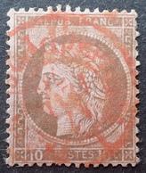 R1512/27 - CERES N°54 Avec Cachet ROUGE Des Imprimés PARIS PP26 Du 17 FEVRIER 1876 - 1871-1875 Cérès
