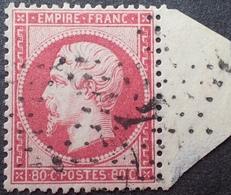 R1512/37 - NAPOLEON III N°24 - BON CENTRAGE - BdF - ETOILE N°4 De PARIS - 1862 Napoléon III.
