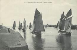 """CPA FRANCE 85 """" Les Sables D'Olonne, Sortie Du Port"""". - Sables D'Olonne"""