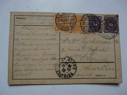 CPA   ALLEMAGNE - BADEN : Timbres 5 Et 20 Deutsches Reich - Allemagne