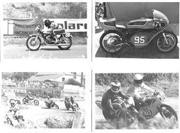 4 Photos - Circuit De Chavy - La CHATRE (36) - Course De Motos - Années 60 / 80- Pas Cartes Postales - - La Chatre