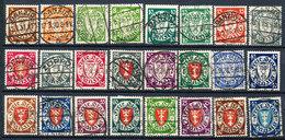 Stamps Danzig 1924-37 Used Lot4 - Danzig