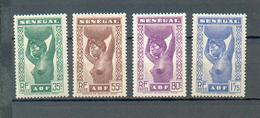 SEN 442 -  YT 144-145-146-148 * - Sénégal (1887-1944)