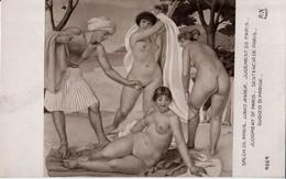 RIVIER: Le Jugement De Pâris [ Nu Femme Nude CPA AN. ] FI030 - Schilderijen