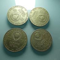 4 Coins Russia - Kilowaar - Munten