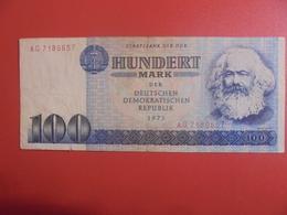 D.D.R 100 MARK 1975 CIRCULER (B.11) - [ 6] 1949-1990 : GDR - German Dem. Rep.