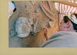 Photo Originale . SITE ARCHEOLOGIQUE DE WADI TUMULA EN EGYPTE  Les Archéologues Au Travail - Luoghi