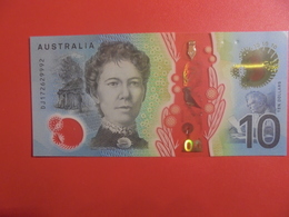 AUSTRALIE 10$ 2017 PEU CIRCULER  (B.11) - 2005-... (Polymer)