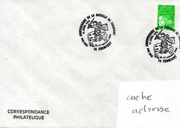350éme Anniversaire De La Bataille De Formigny Obl. Temporaire Formigny 16-17/09/00 - Militaria