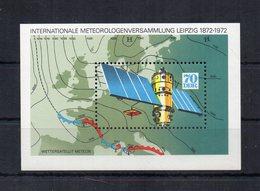 Germania - DDR - 1972 - Blocco Foglietto - Satellite Metereologico - Nuovo - (FDC20319) - [6] Oost-Duitsland