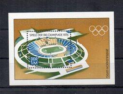 Germania - DDR - 1976 - Blocco Foglietto - Olimpiadi Di Montreal - Nuovo - (FDC20321) - [6] Oost-Duitsland