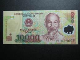 Vietnam 10000 10k Dong P-119 UNC CURRENCY WÄHRUNG POLYMER-BANKNOTEN ASIEN RANDOMYEAR - Viêt-Nam
