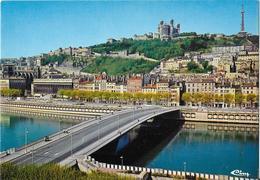 LYON - Pont Maréchal Juin Sur La Saône - Lyon