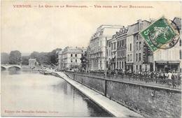 VERDUN : LE QUAI DE LA REPUBLIQUE - Verdun