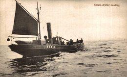 STEAM DRIFTER HAULING - Pesca