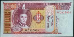 MONGOLIA - 20 Tugrik 2005 {Mongolbank} UNC P.63 C - Mongolie