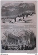 Distribution, Dans L'Ile De La Réunion, De Récompenses D´écernées Aus Exposants Horticoles - Page Original 1855 - Other Collections
