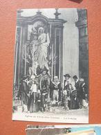 Cpa 9x14 V DD Eglise De Vicq La Creche De Noel Bon Etat - Zonder Classificatie
