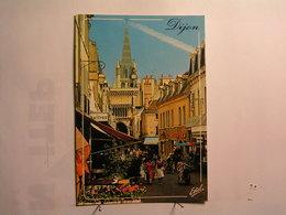 Dijon - La Rue Musette Et L'Eglise Notre Dame - Dijon