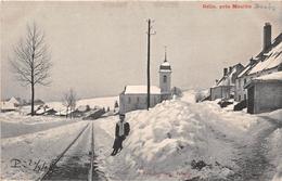 ¤¤   -    GELIN , Près De Mouthe   -  Village Sous La Neige   -  La Ligne De Chemin De Fer   -  ¤¤ - France